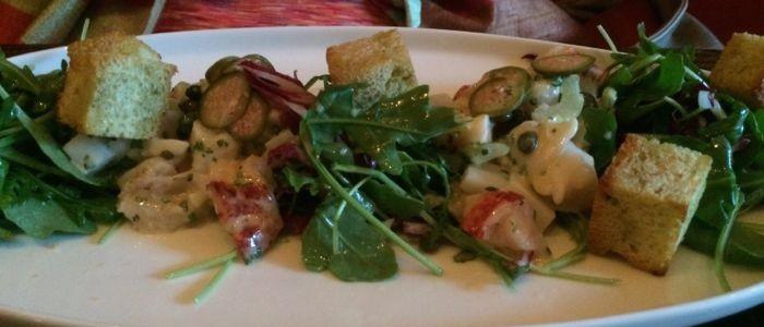 Terzo lobster salad