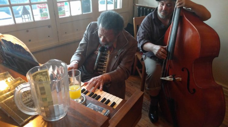 Sundays at the Grand Cafe with Cornbread Harris and Sicilian Pizza